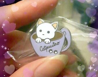 Catpuccino Mascot Pins