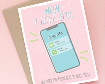 Funny Moder Mother's Day Card