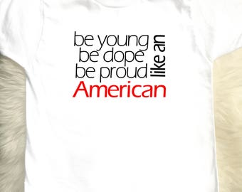 Like An American Toddler & Youth Tee