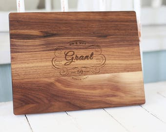 5th Anniversary Gift, Personalized-Engraved, Customize for any Wedding Anniversary