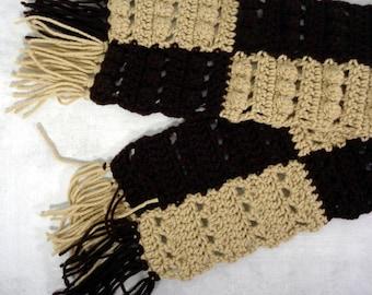 winter scarf - long scarf - warm scarf - long warm scarf - warm winter scarf - brown scarf - extra long scarf - boho scarf - bohemian scarf