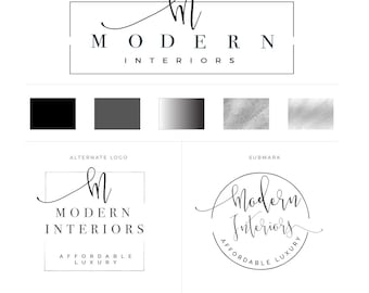 Interior design logo Etsy