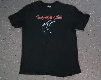 Crosby, Stills & Nash 1987 Tour T Shirt (Medium)