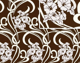 1 yard - Gracful Vine in Ivory - Amy butler August Fields collection