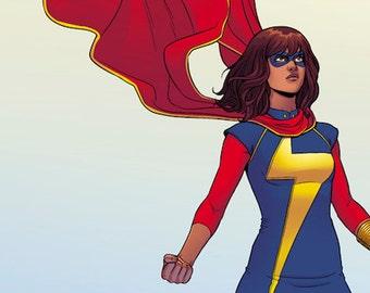 New Ms Marvel Kamala Khan inspired dress