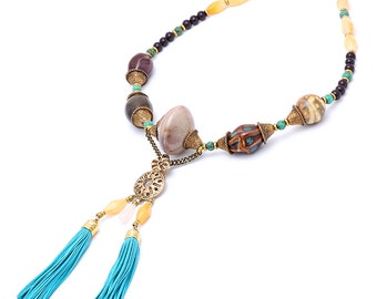 Jira Tassel Necklace
