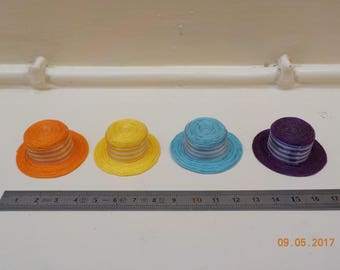 1/12 scale miniature Hat - 4 colors to choose from horizontal stripes