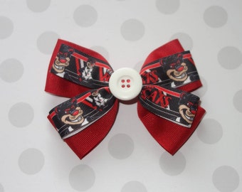UC Bearcats Hair Bow