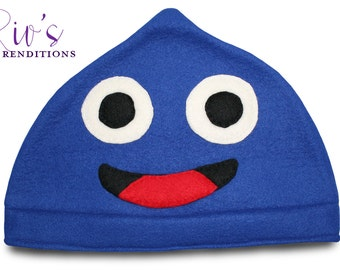 Dragon Quest - Slime Hat / Fleece Hat / Winter Hat / Dragon Quest Hat / Video Game Characters