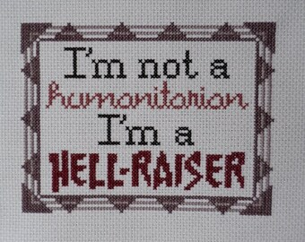 Mother Jones Quote Cross-Stitch Pattern
