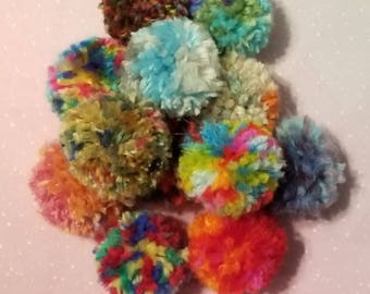 Cat Pom Poms, Catnip Puffs, Cat Birthday Gifts, Cat Toys Starter Package, Cat Ball Set, Gifts for New Cat, Kitten Gifts