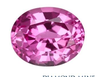 1.81 Carat Pink Sapphire, Oval cut Sapphire, Loose Sapphire Gemstone, Pink Gemstone, Non Heated Real Sapphire