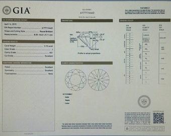 GIA Certified Gorgeous 2.15 Ct. Round Brilliant Cut Diamond