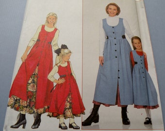Simplicity 8292  Childs Jumper and Petticoat Uncut sizes 3-8