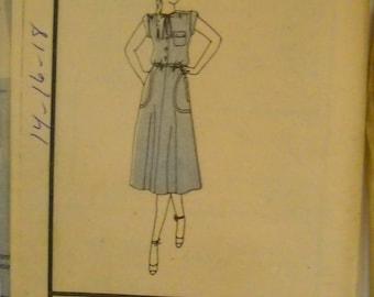 Butterick 3898 Vintage Pattern