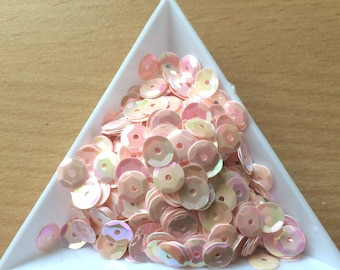 Straw / Cup Pink Pearl 6 mm in bulk
