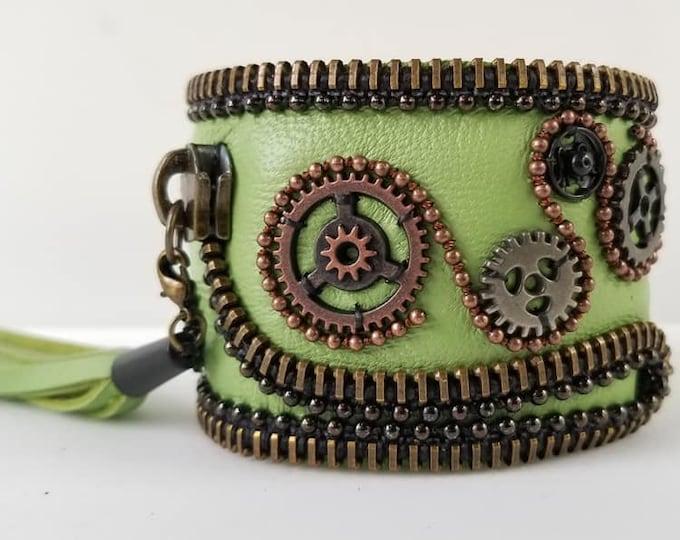 Lime Green Steampunk 2
