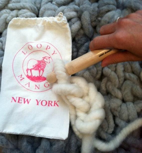 Loopy Mango Size U 25 mm Giant Crochet Hook
