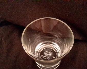 Royal Crown highball glass