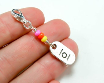 SALE Clearance Jewelry - Birthday Party Favour Charm. Laugh Out Loud Charm. Best Friend Charm. BSC005