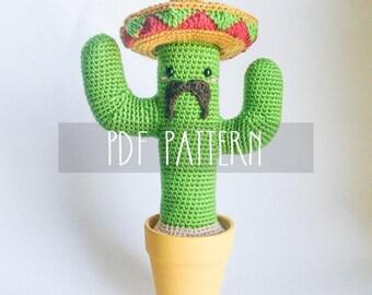 Amigurumi Cactus : Amigurumi cactus garden exclusive online tutorial only semi