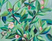 "Apple Blossoms, 8.5""..."