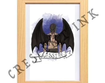 Cassian A4 Art Print
