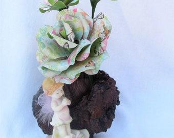 Fairy Paper Floral Arrangement