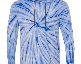 Tye Dye Swirl Hooded Sweatshirt