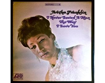 Glittered Aretha Franklin I Never Loved a Man Album