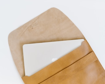 100% Leather Fold Over
