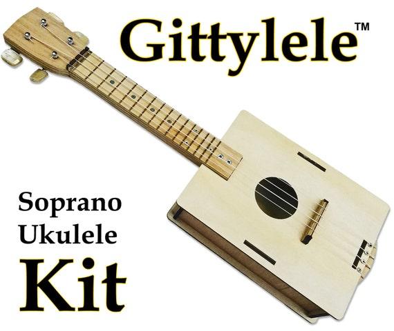 Build it yourself diy ukulele kit easy to build fun to like this item solutioingenieria Gallery
