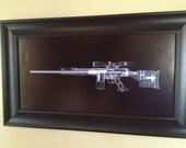 PSG-1 Sniper rifle CAT scan gu...