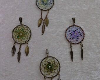 Dream catcher pendants