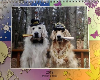 2018 Golden Retriever Calendars