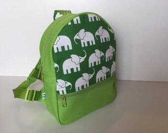 Backpack (M) 'Elephant Walk' green