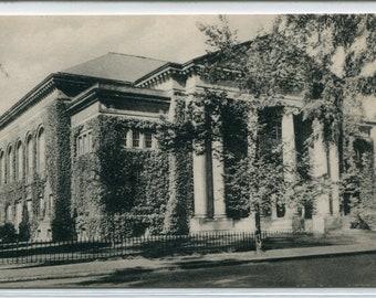 Greene Hall Smith College Northampton Massachusetts postcard