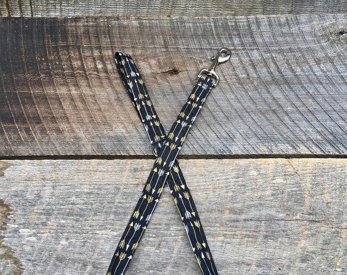 Metallic Arrows Dog Leash