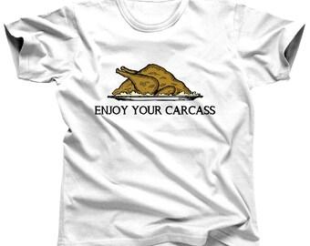 Funny Vegan Shirt - Funny Thanksgiving Shirt - Funny Vegan T Shirt - Vegitarian T Shirt - Vegan Boy - Vegetarian Shirt