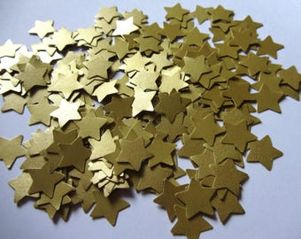 Gold Wedding Confetti Stars Wedding star confetti paper stars wedding decorations wedding table decorations paper stars die cut stars