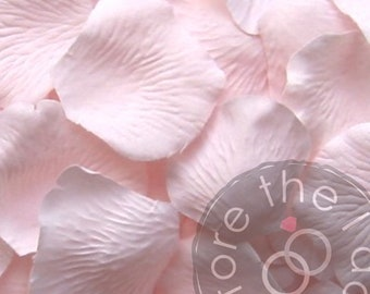Carnation Pink Silk Petals {Package of 100} //// Silk Flower Petals, Silk Rose Petals