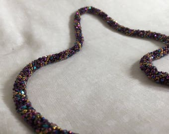Bead Spiral Necklace