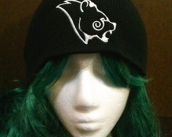 Skyrim Inspired Stormcloak Bear Symbol beanie skull cap