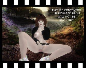 Erotic 3d Art Print