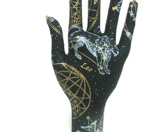 CLASSIC Sun in Leo n Pisces Fabric HAND-Stand ~ Ready to Ship