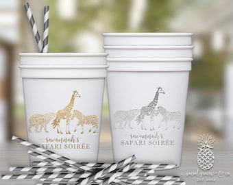 African Safari Party Cups
