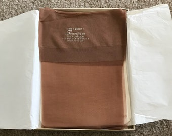 3 Pair Vintage 1960s Park Avenue Thigh High Stockings Nylons Deadstock New In Box