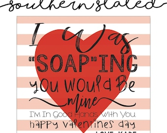 Teacher (Soap) Valentines