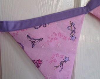 Princess Bunting | Nursery Decor | Banner | Flags | Girls Bedroom Decor | Home and Living