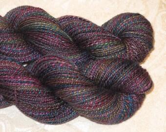 Handspun Yarn - Merino, Silk, Yak